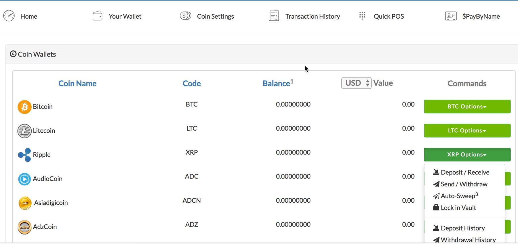 Coinpayment XRP best Wallet